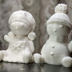 Picture of print of Snowchildren