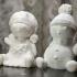 Snowchildren print image