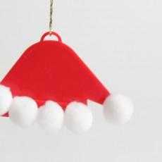 Santa Claus Hat Ornament