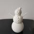 Snowman Ornament print image