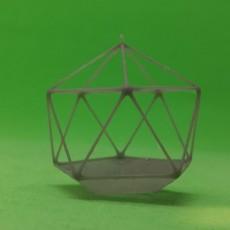 Geometric hanging ornament