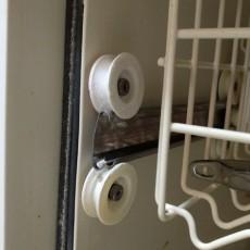 DU920PFGQ3 Whirlpool Dishwasher Dish Rack Roller