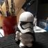 Star Wars Storm Trooper, Captain Phasma, Chibi Style image