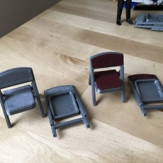 Folding chair (1:18 scale)
