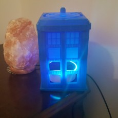 Picture of print of Echo 2 Tardis Cover