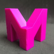 Picture of print of My mini factory M logo