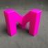My mini factory M logo print image