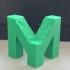 My mini factory M logo image