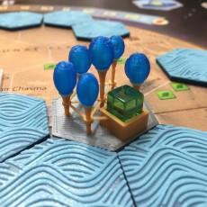 Terraforming Mars Tile - Capital