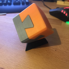 Picture of print of Impossible dovetail puzzle