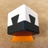 Impossible dovetail puzzle print image