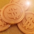 Scrooge McDuck Gold Coin / Dollar Coin image
