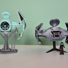 Picture of print of Kylo Ren´s TIE Silencer