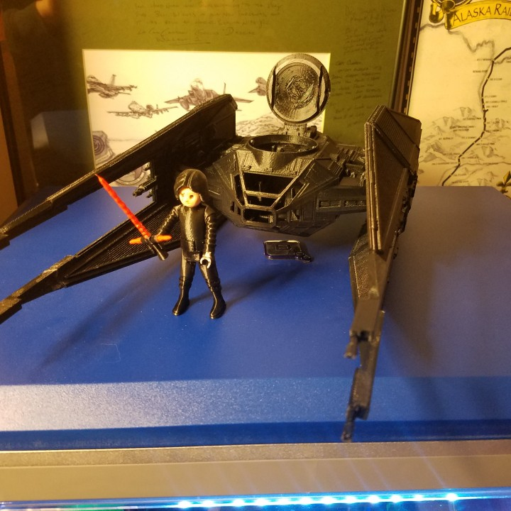Picture of print of Kylo Ren´s TIE Silencer This print has been uploaded by James Clapper
