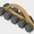 5 wheels massager image