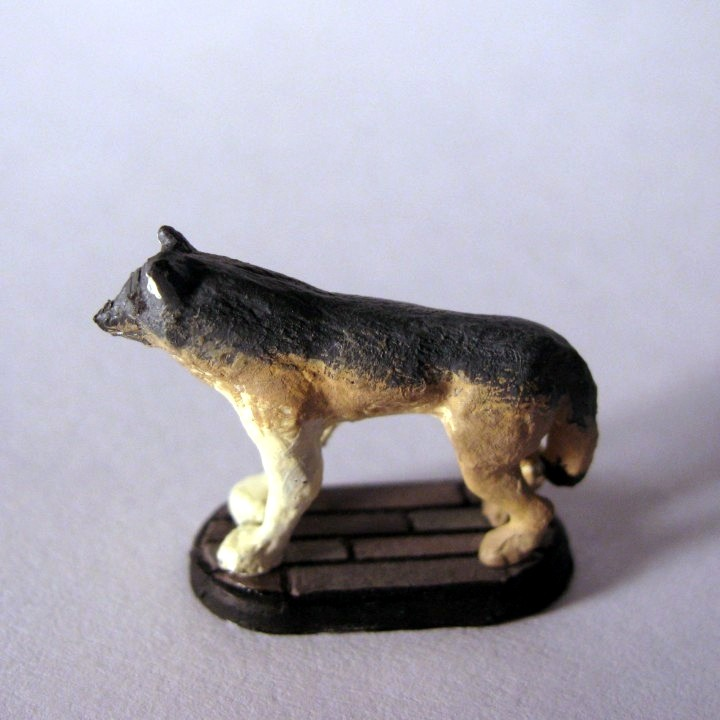 Gray Wolf Gaming Miniature