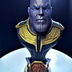 Picture of print of Thanos (Avengers: Infinity War trailer version)