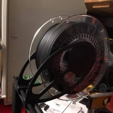 Top mounted spool holder for Tevo Tornado, CR10 and other 3d Printers