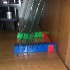 HeatBed Glass Holder 6x2.5mm
