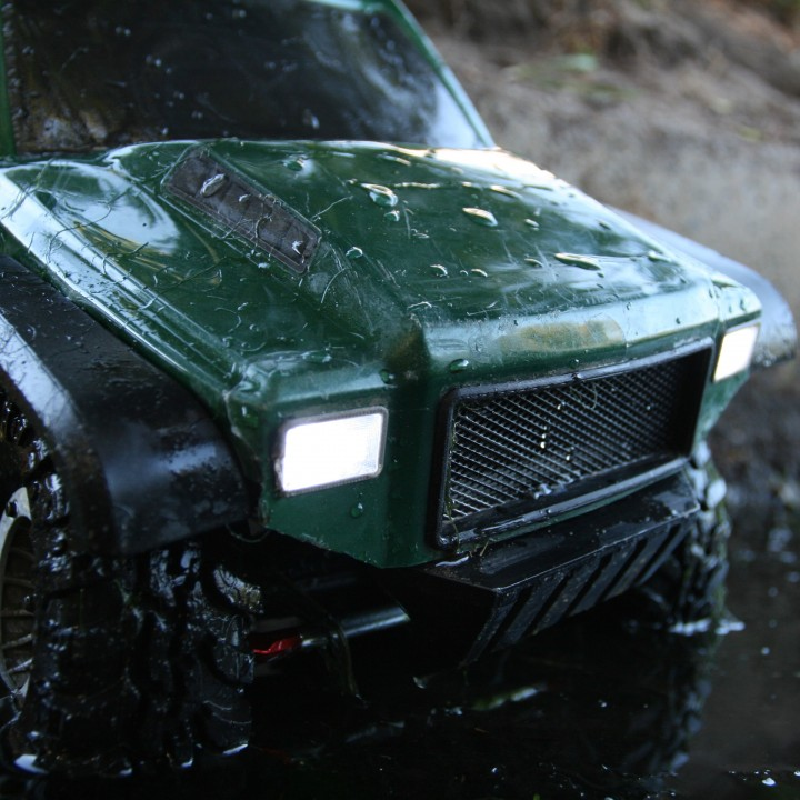 Grille and Headlamps for Redcat Gen7