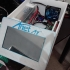 3D Printer Electronics Enclosure - Touch Screen, Mainboard, MOSFET, PSU, Raspberry, Fan. image