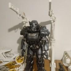 Fallout 4 Power armour station (sized for threezero figure)