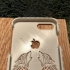 iPhone 8 Plus Case with Two Wolves howling at the Apple image