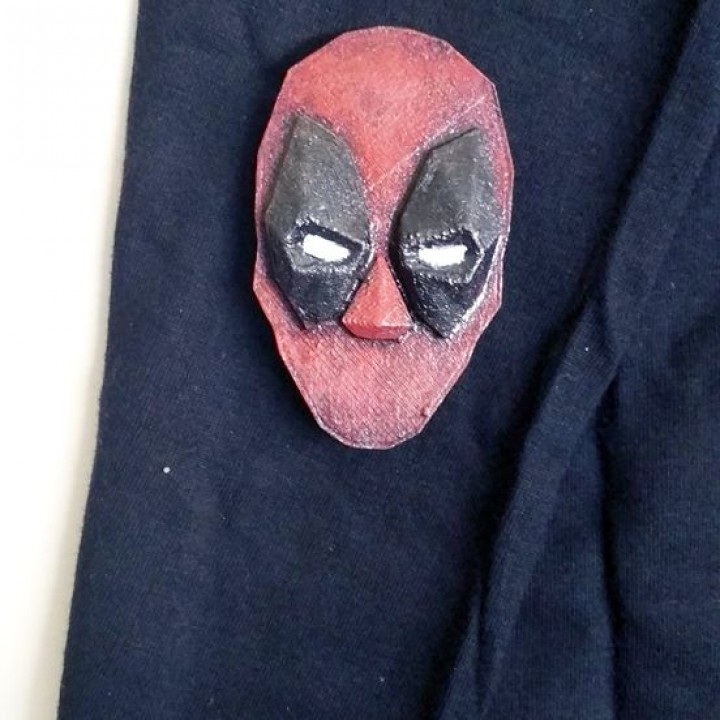 Deadpool Brooch