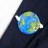 Earth Brooch image