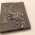 Velociraptor Miniature Fossil with Openlock image