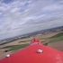 """Red Swan"" RC flying wing image"