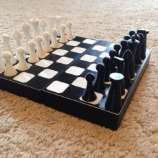 Chess and Checker Game Case