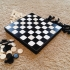 Chess and Checker Game Case image