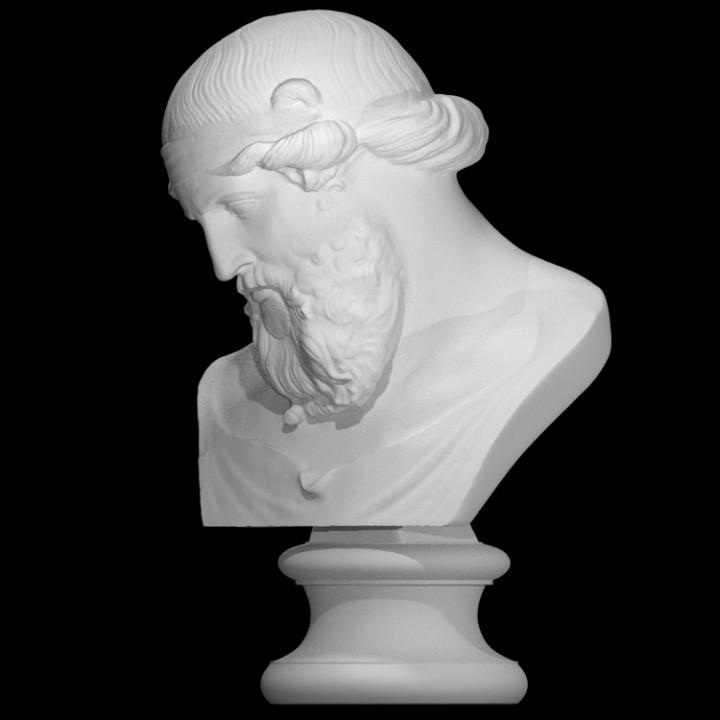 Bust of Dionysus, Priapus, Plato or Poseidon