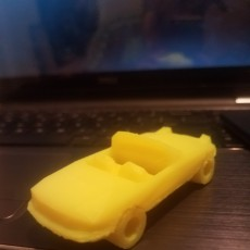 Picture of print of Low-Poly Mazda Miata