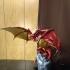 Skyrim Frost Dragon print image