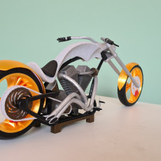 Picture of print of Fully 3D printable Chopper