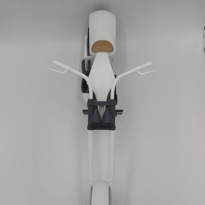 Fully 3D printable Chopper