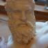 Bust of the Farnese Hercules print image