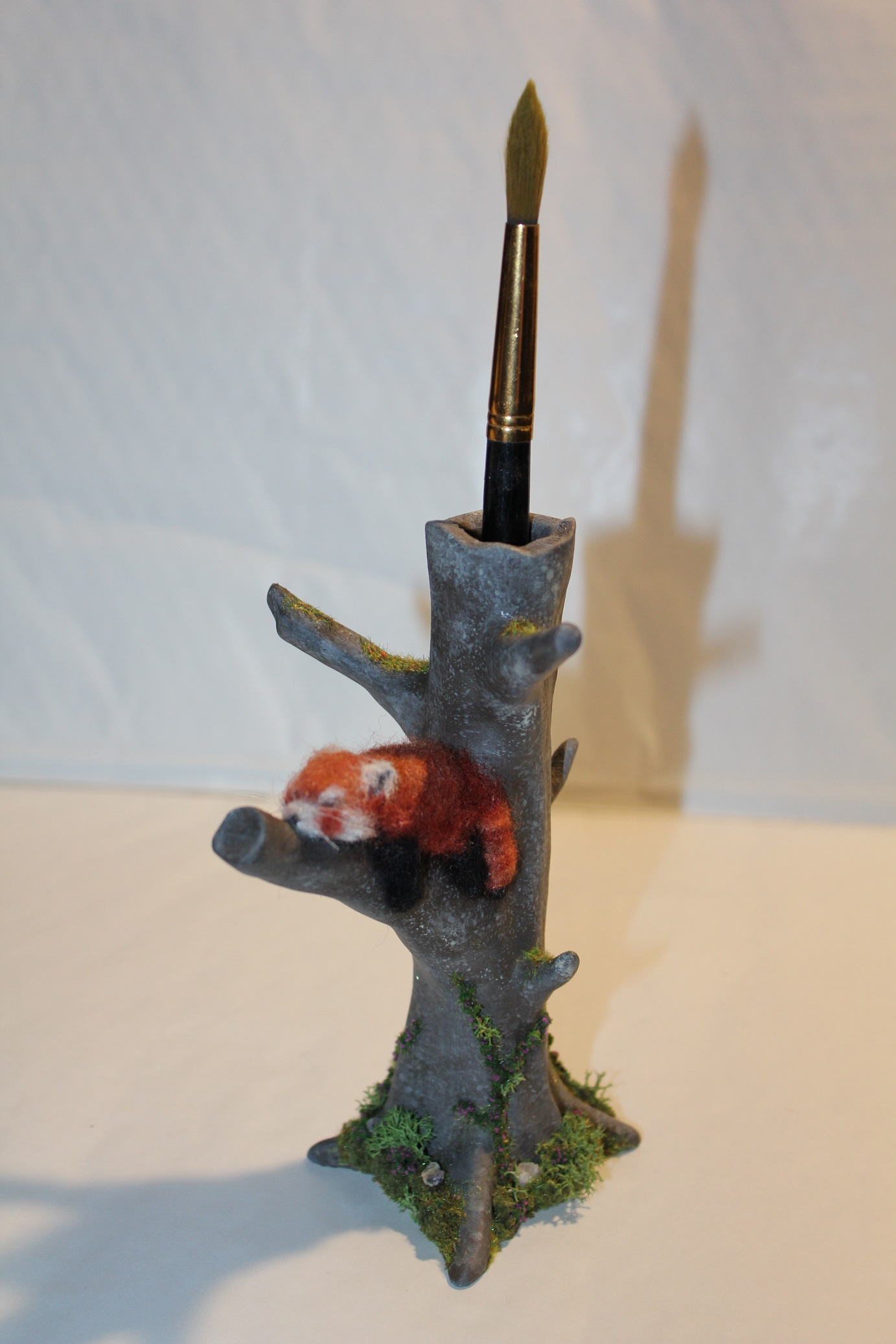 3D Printable Red Panda Tree by Jukka Seppänen