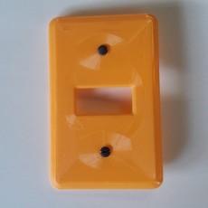 3D Printable Light Switch Box 2 by James Eckert