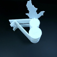 Picture of print of Oil Rig Phone Stand