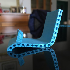 Picture of print of Hexagon lounger phone holder