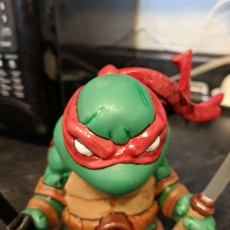Picture of print of Chibi mutant ninja Turtles! LEO!