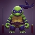 Chibi mutant ninja Turtles! LEO! image