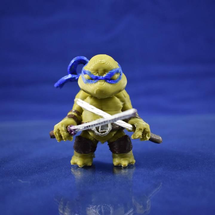 Chibi mutant ninja Turtles! LEO!