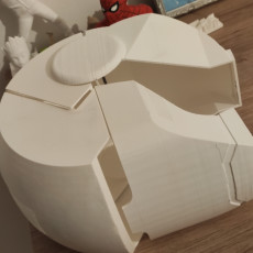 Picture of print of Iron man Helmet Project (STL'S & SOLIDWORKS)