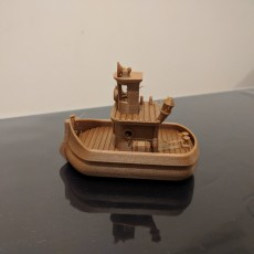 Picture of print of bathtub boat