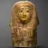 Egyptian funerary mask image
