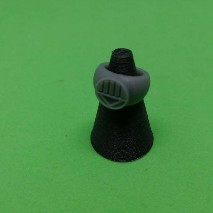 Black Lantern Ring New